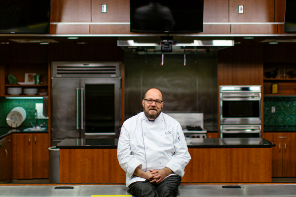 chef and instructor Brian O'Malley