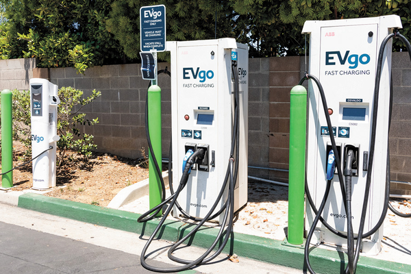 Electric Vehicle Charging Station in California