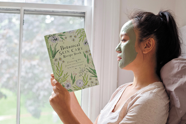 Homemade Mask from Botanical Skin Care Recipe Book