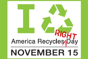 America Recycles Right Day image