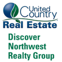 United Country Real Estate Discover Northwest Realty Group LOGO