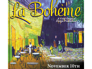 Gulfshore Opera presents La Boheme - start Nov 10 2020 0700PM