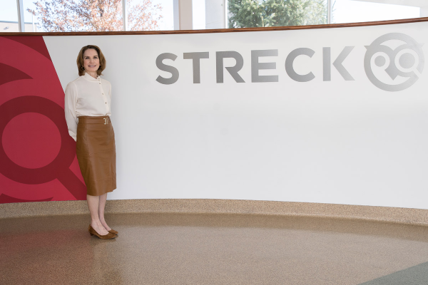 Streck chairperson and CEO Connie Ryan