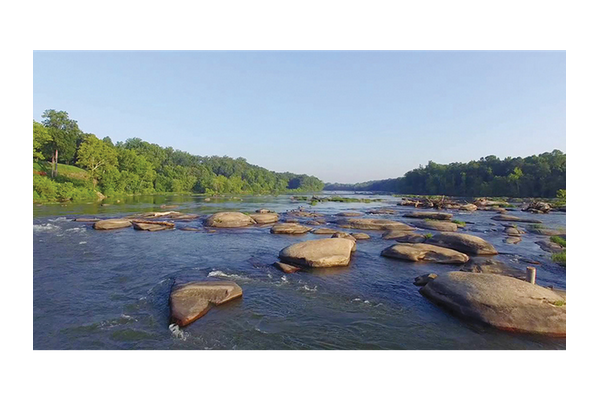 The James River