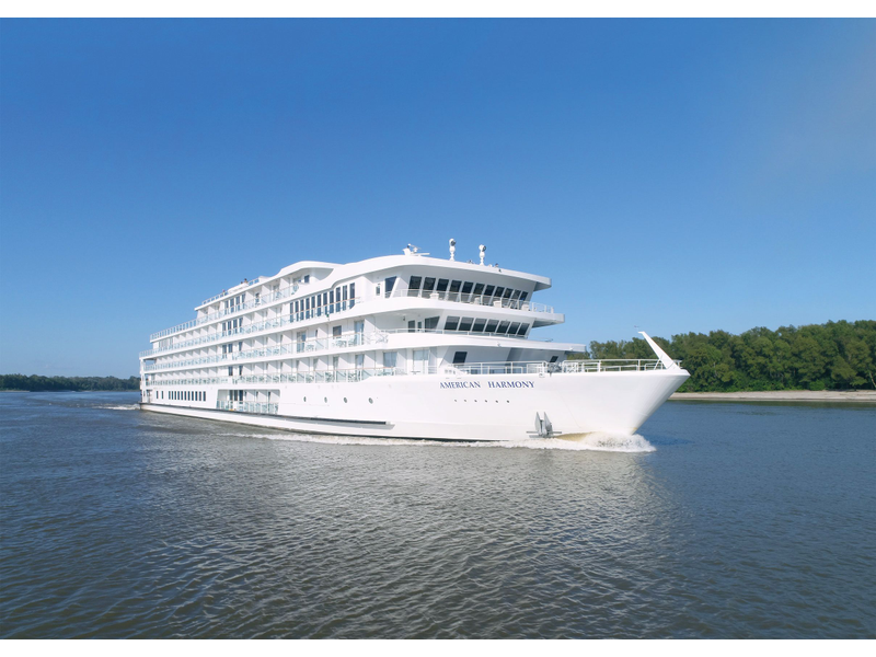 American Cruise Lines' 2nd Modern Riverboat, American Harmony
