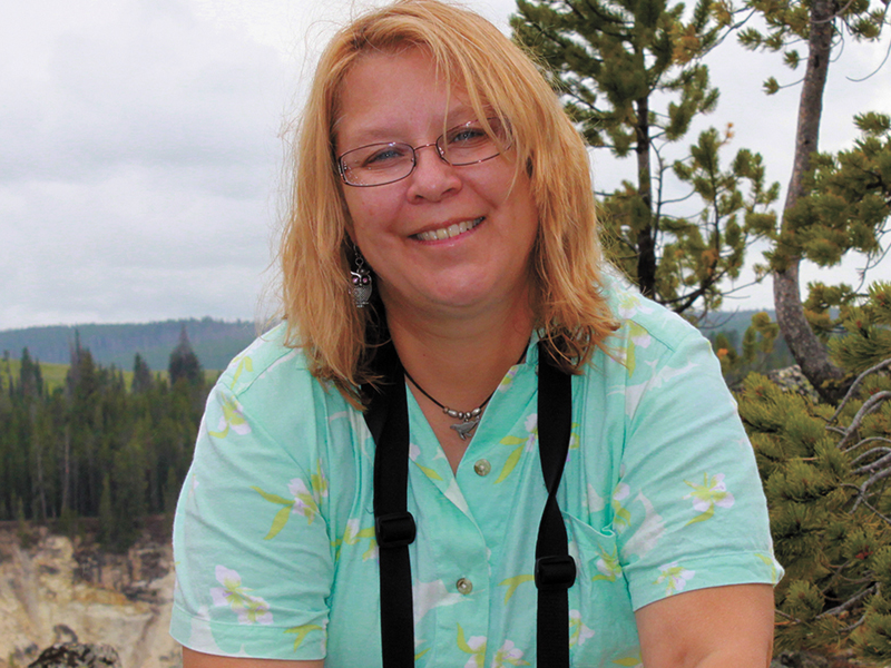 Nature writer Sheryl DeVore