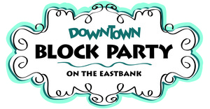 Medium downtown block party logo