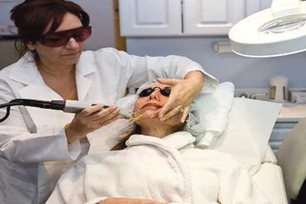 Laser treatment with Hilda Demirjian White Plains NY