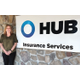 Says HUB International New England Senior Vice President Aimee Goddard above Theres no problem we cant solve