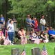 Hundreds of residents turned out for the Tewksbury Memorial Day Ceremony.