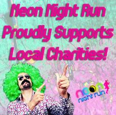 Medium neon supports charities