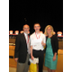 8th Grade Winner: Scott Mazzapica with Dr. O'Connor & Kristen Vogel