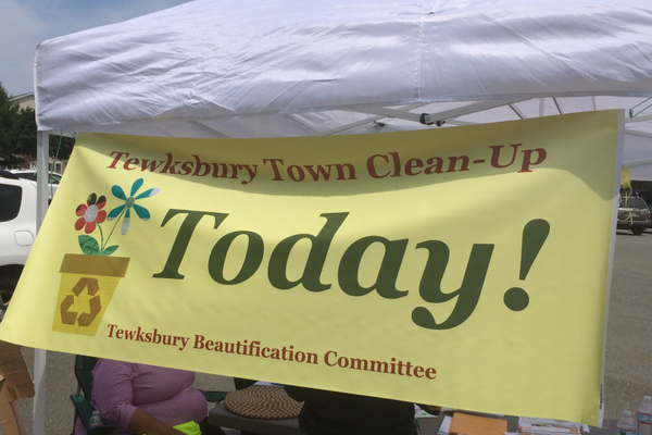 Saturday, June 28 was the first annual Tewksbury Clean-up Day!