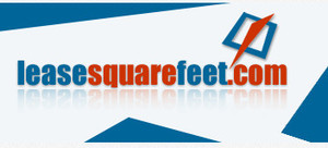 Medium lease square feet logo