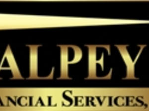 Main image valpey financial services logo vfs logo lighthouse gold and black small