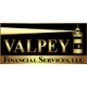 Valpey financial services logo vfs logo lighthouse gold and black small
