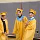 Matt Dalton, Joe Biocco and Jason Farkas provide musical entertainment for their classmates.