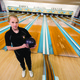 Bordentown High freshman Morgan Papp whose grandparents own Papps Bowling Center made a big impact on the Scotties bowling team this year Photo by Albert Rende