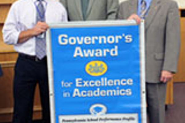 Hampton MS and HS Receive Governor's Awards