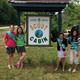 Girl Scout Troop 51339 members Megan Allessi, Sydney Komoroski, Kyra Koch, Claire Nettleton and Ana Menchyk