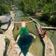 The view from above Jacob's Well