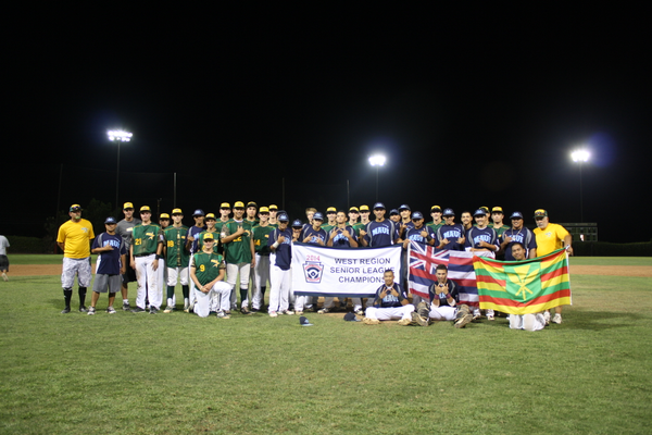 The 2014 Manhattan Beach Junior League All Stars went undefeated in post-season play until the Hawaiian team above staged a tremendous come-back win in the final inning of the West Region championship game.