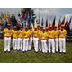 The 2014 West Region Junior Little League champions are from Manhattan Beach and Hermosa Beach Little Leagues and are playing in the World Series in Taylor, Michigan.