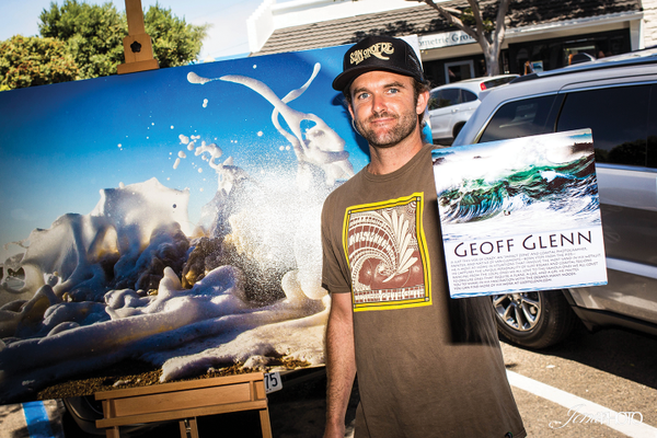 Geoff Glenn, surf photographer.