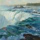 """Outpouring, Horseshoe Falls"" (John 6:63) (Canadian side of Niagara, opposite Buffalo, NY)"