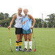 Cait Nitschmann and Morgan Irons at a practice for Scotties field hockey.