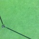 Ball mark on green and ball in cup - ACE!