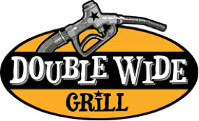 Double wide grill logo