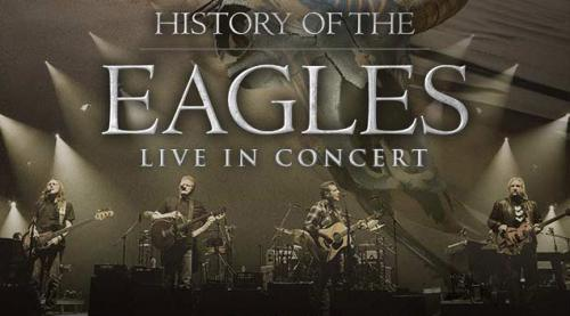 History of the eagles tour poster