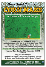 Medium corn maze