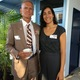 Colonel John D. Counselman, Jr. (U.S. Marines) with MBEF Executive Director Farnaz Golshani Flechner