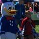 Donald Duck made an appearance.